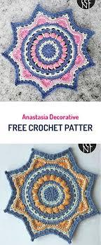 free crochet patterns for home decor anastasia decorative free crochet pattern crochet yarn homedecor