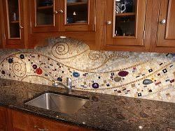 kitchen backsplash tile patterns achieve a unique and colorful look in your kitchen with a pattern