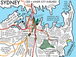 Dc Neighborhood Map Sydney Map Urbane Maps Pinterest Tourist Map And Sydney