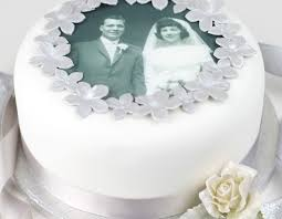 wedding anniversary cakes anniversary cake decorating kit with photo topper