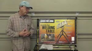 harbor freight welding table harbor freight welding table review video 49 youtube