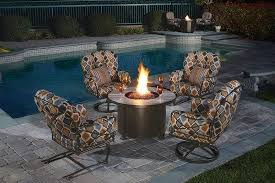 Tropitone Fire Pit by Peters Billiards Home Bar Industrial With Exposed Wood Beams