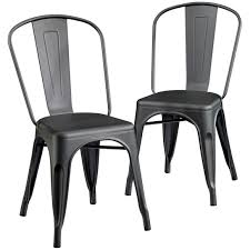 Black Metal Chairs Dining Dining Chairs Astonishing Black Metal Dining Chair Black Metal