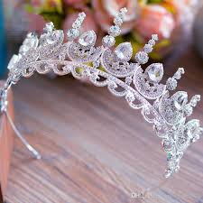 hair accessories melbourne bridal wedding prom silver rhinestone king headbands