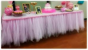 how to make tulle skirt do it yourself tutu tableskirt coffee in my sippy cup
