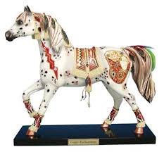 copper enchantment pony ornaments figurines one price low flat