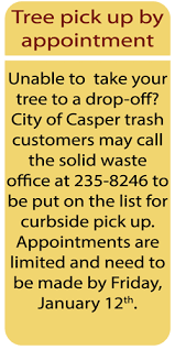 tree recycling city of casper