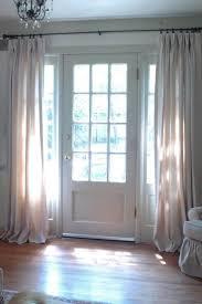 Draperies For French Doors 27 Best Front Door Curtain Images On Pinterest Front Door