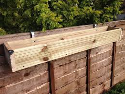 fence planters pots window boxes baskets ebay