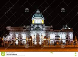 the ananta samakhom throne hall in thai royal dusit palace in the