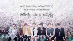 bts 방탄소년단 butterfly ver han rom eng lyrics chords