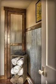 cottage bathroom ideas rustic crafts i m beginning to like galvanized steel who would guessed