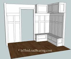 mudroom u2013plan a is this load bearing