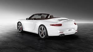 convertible porsche white convertible porsche 911 carrera s