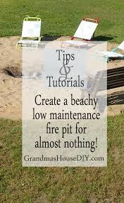 tutorial create a do it yourself low maintenance beachy backyard