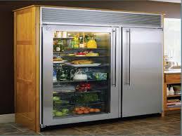frigidaire glass door fridge glass door refrigerator for home sub zero