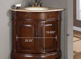 Brown Bathroom Cabinets by Bathroom Vanity Sink With Cabinets Corner Cabinet Contemporary