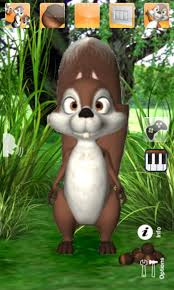 talking android talking squirrel for android free and software