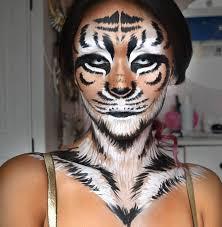 Tigress Halloween Costume 20 Tiger Makeup Ideas Cat Makeup Leopard