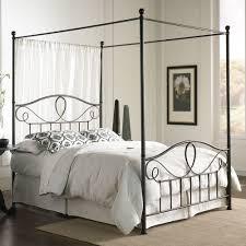 Metal Canopy Bed Wrought Iron Canopy Bed Frame Queen U2014 Suntzu King Bed Build