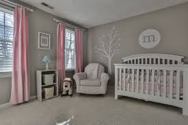 Light Pink Curtains by Remodel Gray With Soft Pink And Blue Accents In Girls Rooms
