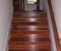 replace carpet on staircase to garage with timber that matches