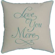 home theater pillows mainstays love you more pillow walmart com
