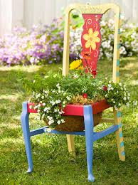 garden planter chairs u2013 home design and decorating
