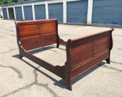 Antique Sleigh Bed Sleigh Bed Etsy