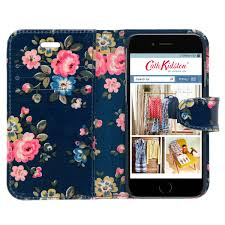 latimer rose iphone 6 case with card holder cath kidston