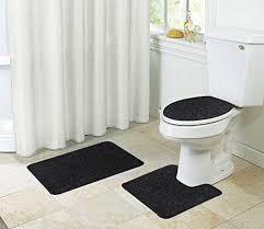 k mat 20x32 inch white bath mat soft shaggy bathroom rugs non slip