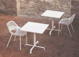Design Garden Furniture London by Tonik Square Garden Cafe Table Modern Garden Furniture At Go