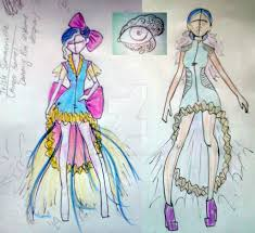 hunger games inspired district 8 fashion doodles by dds88 on