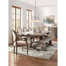 dining room furniture collection home decorators collection aldridge antique grey extendable dining