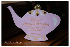 10 jasmine genie lamp princess invitations princess tea