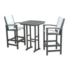 patio ideas patio bar height table and chairs set outdoor