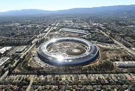 park siege social en images découvrez le nouvel apple park aux allures de soucoupe