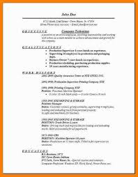 Lube Technician Resume 8 Technology Resume Template G Unitrecors