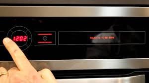 setting the clock on teka u0027s hl 890 hydroclean oven youtube