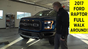 Ford Raptor Truck Bed Length - 2017 ford raptor exterior u0026 interior walkaround with exhaust note