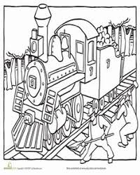 steam train coloring twistynoodle