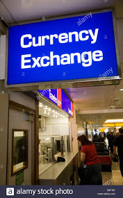 bureau de change 3 passenger at a bureau de change office operated by travelex at