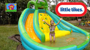 best water slide little tikes biggest slide pool fun summer kids