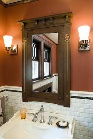 Craftsman Style Bathroom Craftsman Style Bathroom Mirrors Cherry Craftsman Mission Dresser