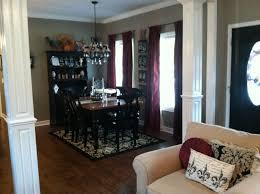 Fleur De Lis Kitchen Rugs Wood Columns Living Room Dining Room Kitchen Black Tan Damask Rug