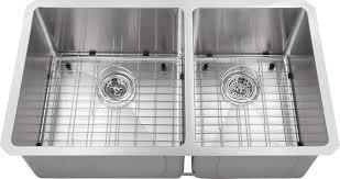 Two Bowl Kitchen Sink by Www Iptsink Com Hand Made Ur6040 32 Ra Radius Undermount Double