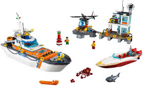 Lego Headquarters City 2017 Coast Guard Brickset Lego Set Guide And Database