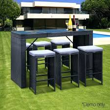 Bunnings Bar Table Outdoor Bar Table And Stools Brisbane Bunnings