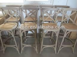 french cross back bar stool buy cross back bar stool cross back