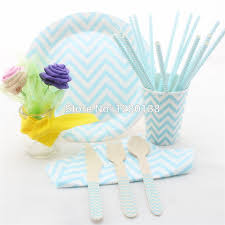 disposable paper plates cups straws napkins wedding